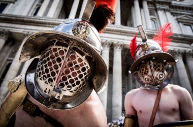 Gladiateurs prêts au combat ! (photo : Getty/UEXE)