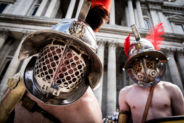 Gladiateurs prêts au combat ! (photo : Getty/UEXE)
