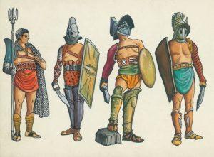 Choisissez votre champion qui défendra votre honneur dans l'arène (photo : British Museum)