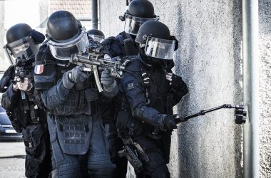 Le GIGN à l'entraînement. (Photo : GIGN)