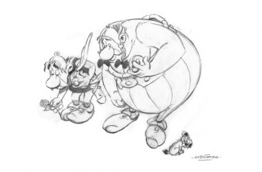 Astérix et Obélix Ⓒ Éditions Albert René /Parc Astérix/Twitter